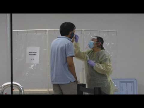 Mexican Consulate in Los Angeles opens coronavirus testing site