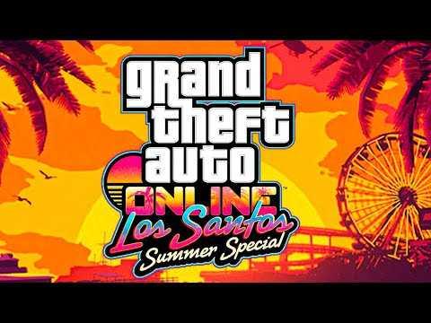 """GTA ONLINE """"Los Santos Summer Special"""" Trailer (New, 2020)"""