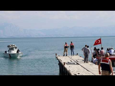 Turkish lake turns into migrant graveyard