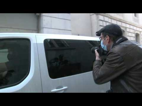 Chilean man arrives at French court over murder of Japanese ex-girlfriend