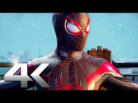 SPIDER-MAN Miles Morales Gameplay 4K (PS5)