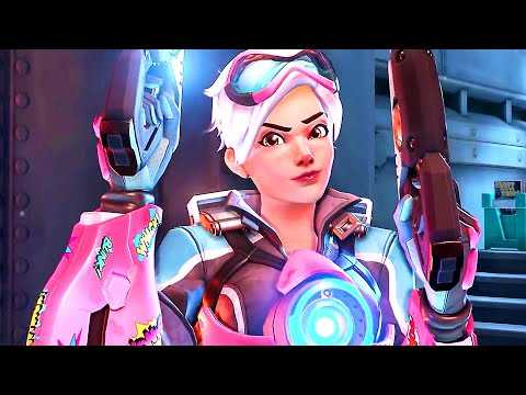 OVERWATCH Tracer's Comic Challenge Trailer (2020) PS4 / Xbox One / Switch / PC
