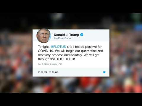 US president Donald Trump tests positive for Covid-19