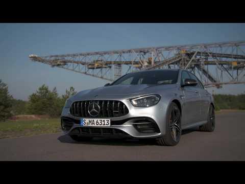 Mercedes-AMG E 63 S 4MATIC+ Sedan Design in high-tech silver