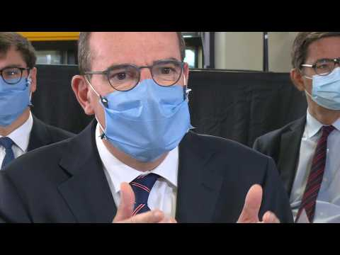 French PM Castex visits Bic factory for meeting on delocalised industry