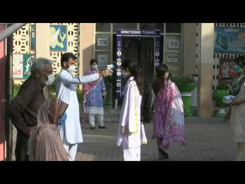 Pakistan reopens schools six months after virus shutdown