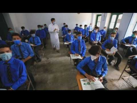 Students in Pakistan return to class after 6-month closure due to COVID-19