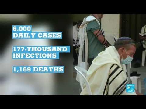 Coronavirus pandemic: Israel returns to virus lockdown as cases mount