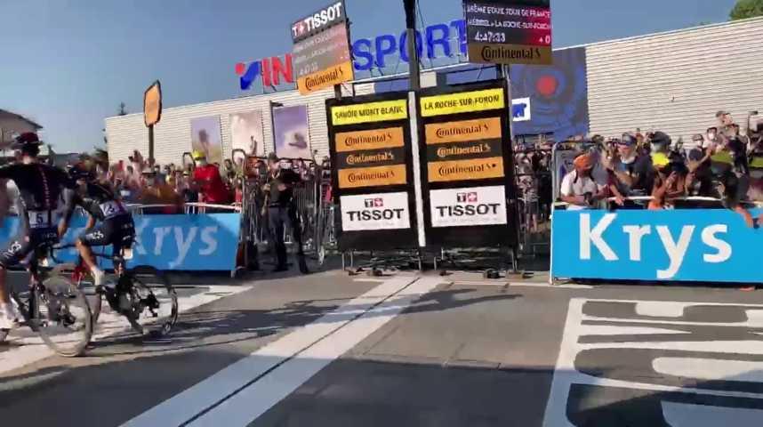 Thumbnail Une bretonne au coeur du Tour de France