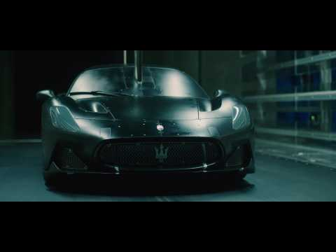 Maserati MC20 aerodynamic test Wind Tunnel Dallara