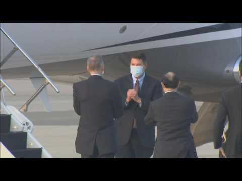 US top-level diplomat arrives in Taiwan despite Chinese opposition