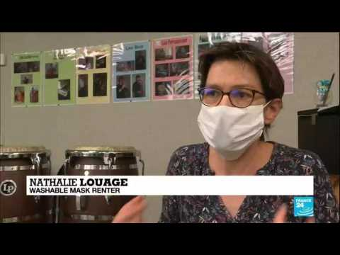 Face masks pollution: French firm finds way to produce washable and reusable masks