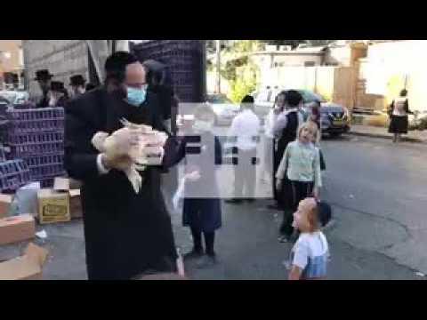 Ultra-orthodox Jews celebrate Kaparot ceremony amid pandemic