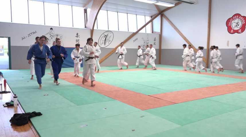 Thumbnail Championnat de France de judo : les filles du Seibukan s'y préparent