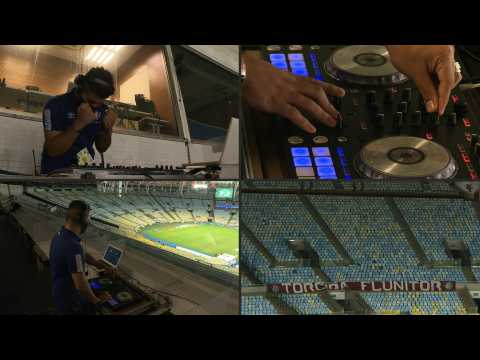 Without fans due to the pandemic, Brazilian football teams turn to DJs to personify the crowd
