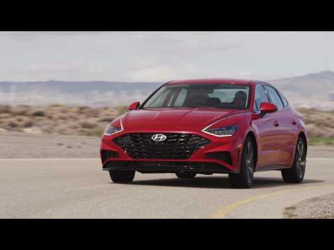 2021 Hyundai Sonata Driving Video