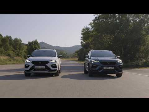 2020 CUPRA Ateca Driving Video