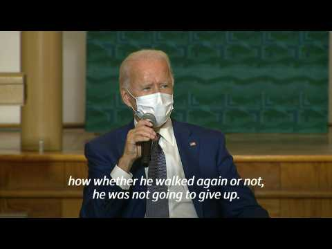 Biden says he spoke by phone to Jacob Blake, black man shot by police