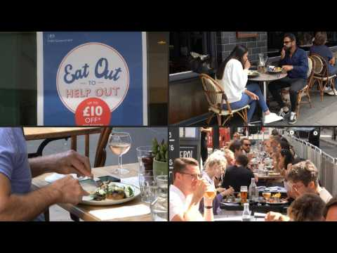 'Eat Out To Help Out' restaurant support scheme begins in UK
