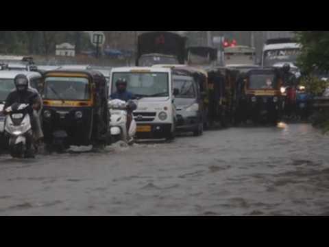 Floods in Mumbai due to heavy rains