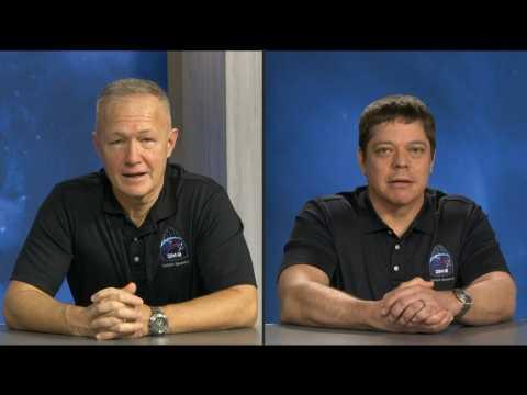 Astronaut describes noisy descent in SpaceX capsule