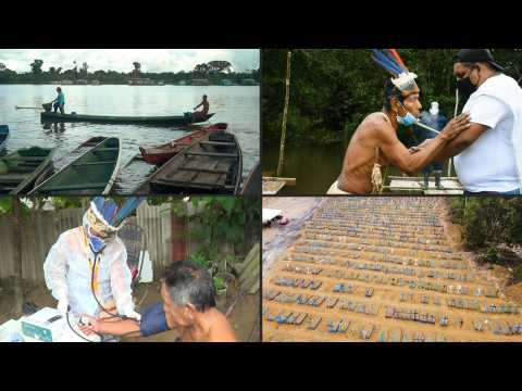 Isolated but not protected, COVID-19 weakens the Amazon's indigenous