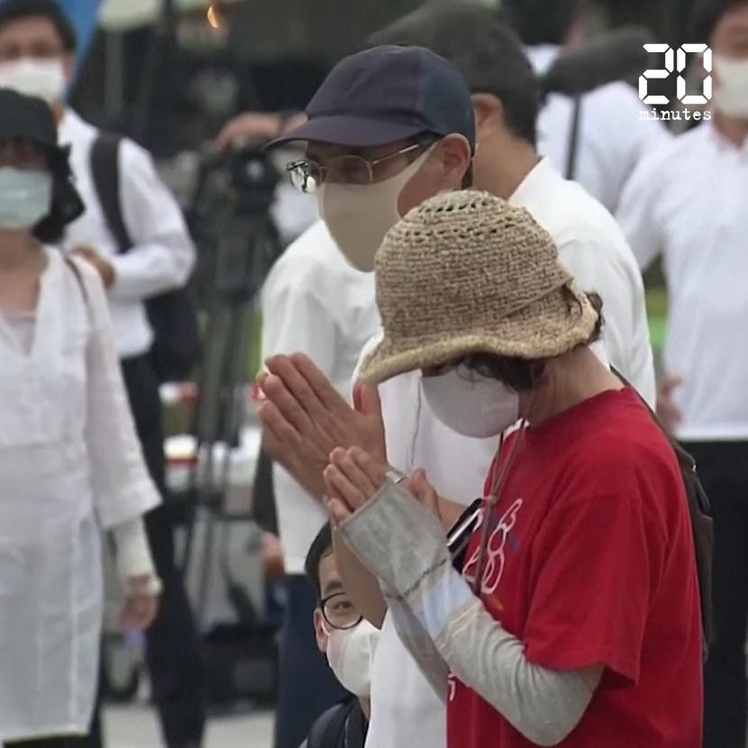 Japon : Commémorations à Hiroshima, 75 ans après la première bombe atomique de l'histoire