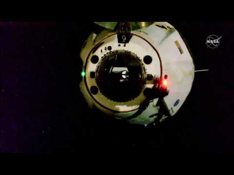 SpaceX Crew Dragon undocks from ISS for return to Earth