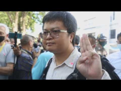 Four Thai pro-democracy activists face charges for violating emergency decree