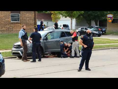Police in Wisconsin shoots a black man in back