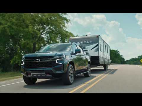 All-New 2021 Chevrolet Suburban - Summer 2020