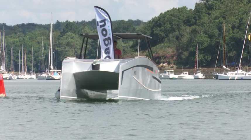 Thumbnail Découvrez le Bagoù Boat, le bateau électrique lorientais !