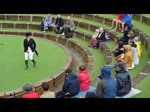 UK open-air theatre reopens with strict guidelines as restrictions lifted