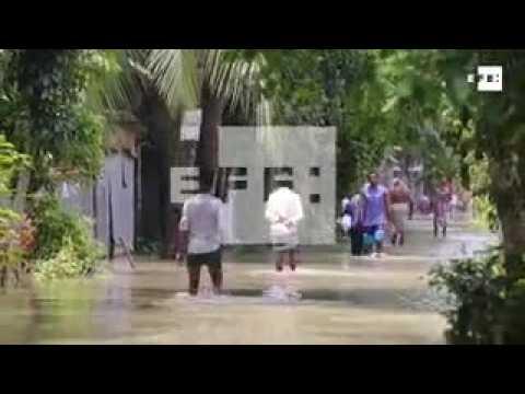 Floods hit Bangladesh after heavy monsoon rains