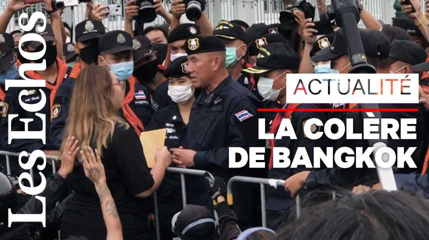 Illustration pour la vidéo La Thaïlande dans la rue contre son gouvernement