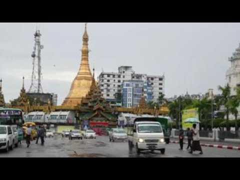 Myanmar authorities impose lockdown in Yangon