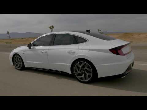 2021 Hyundai Sonata N Line Driving Video