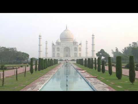 Taj Mahal reopens as India's coronavirus cases soar