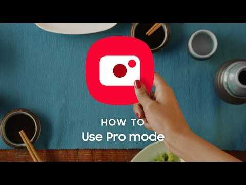 Samsung Galaxy Note10: How to take pictures with Pro mode
