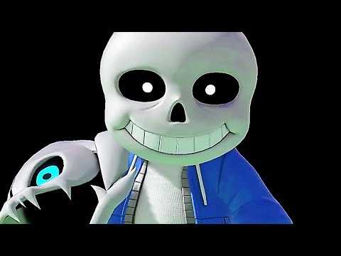 "SUPER SMASH BROS ULTIMATE ""Undertale's Sans"" Gameplay Trailer (2019) Switch"