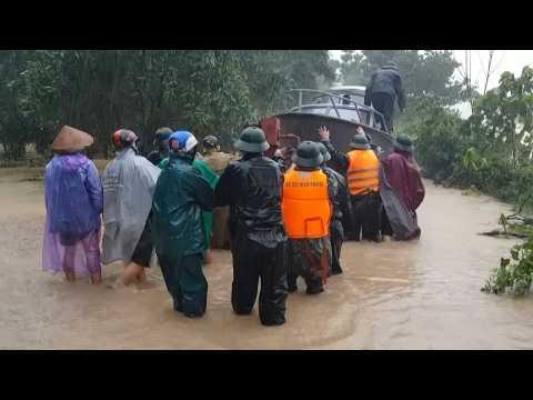 Deadly flooding and landslides hit central Vietnam
