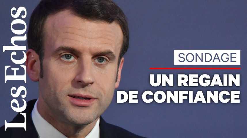 Illustration pour la vidéo Macron s'offre un regain de confiance à la rentrée
