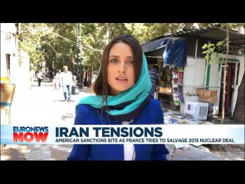 Iran tensions: American sanctions bite as France tries to salvage 2015 nuclear deal