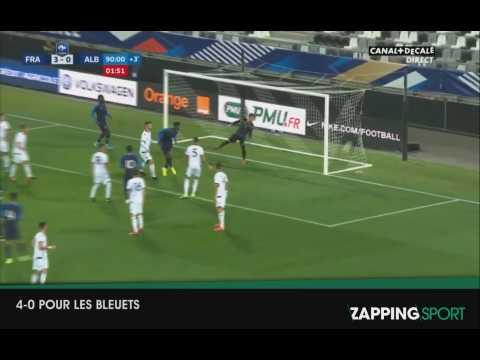 Zap sport du 6 septembre 2019, l'équipe de France Espoirs remporte leur match face à l'Albanie