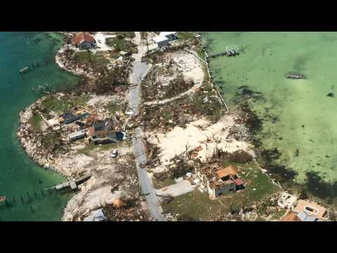 Aerial images show Abaco Islands ravaged by Hurricane Dorian
