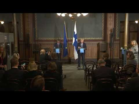 """Brexit without a deal """"seems obvious now"""", says Finnish PM"""