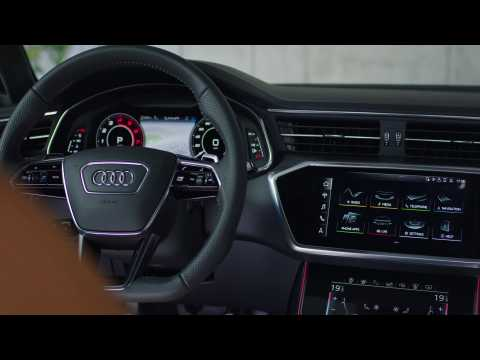 The new Audi RS 6 Infotainment System