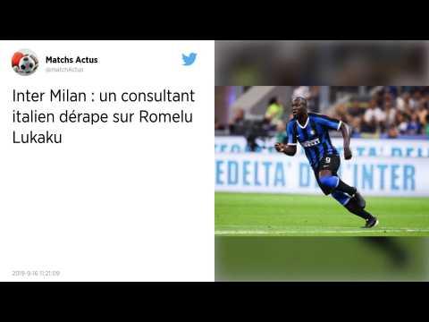 Un consultant télé italien propose de jeter des bananes à Romelu Lukaku, sa chaîne l'évince