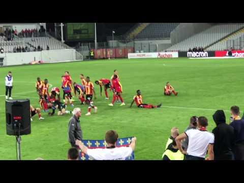 Le kop du RC Lens refuse de fêter la victoire avec les joueurs