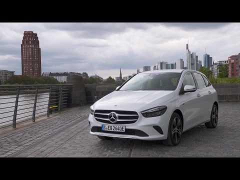 Mercedes-Benz B 250 e Design in Digital white
